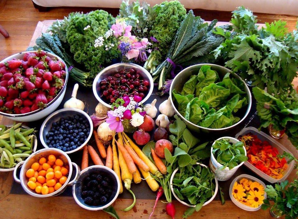 ازون و سبزیجات